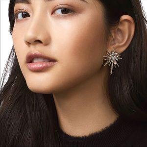 Star Crystal Piercing Earrings